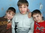 Vadim with his siblings