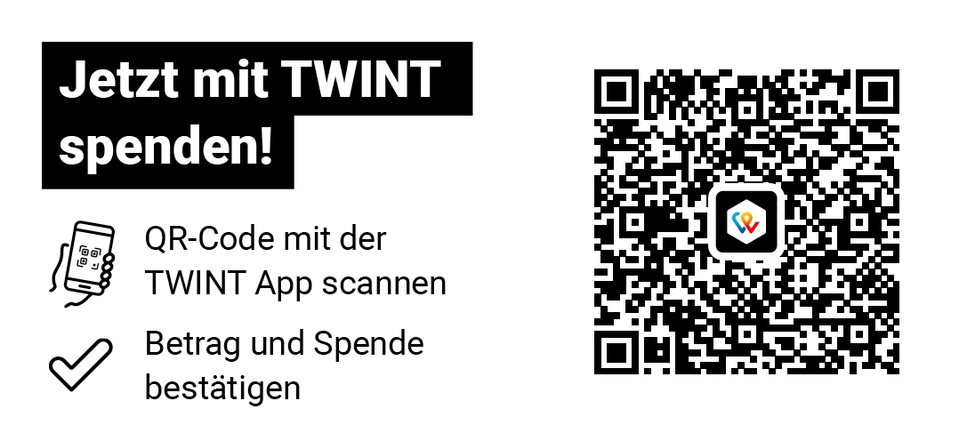 Donate with TWINT