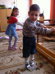 Kinder mit CP