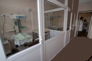 model of isolation room