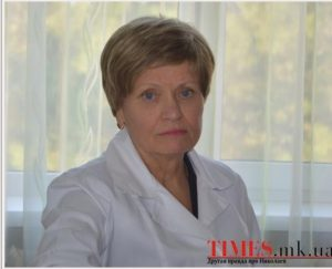 Olga Ivanovna, from a recent edition of a local newspaper