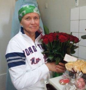 roses for Olga's birthday