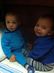 Max on the left and Yaroslav