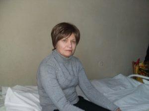 Olga Ivanovna in Kiev hospital