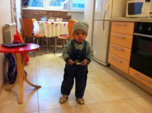 Yaroslav in the Kiev's flat